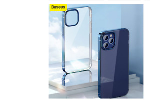 Baseus Clear Phone Case For iPhone 12 Pro Max 12Max Coated Case Slim Soft TPU