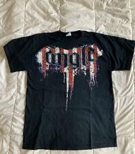 Kurt Angle TNA Wrestling T-Shirt M Warrior Total Nonstop Action WWE WWF
