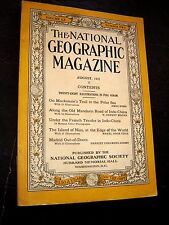 ANTIQUE NATIONAL GEOGRAPHIC May 1931 ILLINOIS The Andes GRIMM FAIRYLAND GERMANY
