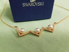 SWAROVSKI Edify Kette mit Perlen rot-gold 5197179