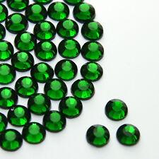 Diamante Me 6mm Emerald Hotfix / Iron on / Flat Back Rhinestones AAA Grade 150
