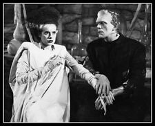 Karloff Lanchester #1 Photo 8x10  Bride Of Frankenstein