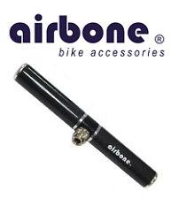 Pompe AIRBONE Carbone velo Course VTT VTC Ville 9 bars Dual Carbon NEUF 316 Pump