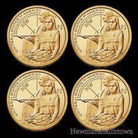 2014 P+D Native American Sacagawea Set Pos A+B from Original U.S. Mint Rolls