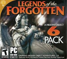 LEGENDS OF THE FORGOTTEN Hidden Object 6 PACK PC NO CASE NO ART SHIPS FAST