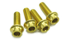 OMNI Racer Worlds Lightest Bottle Cage Bolts: 4 GOLD
