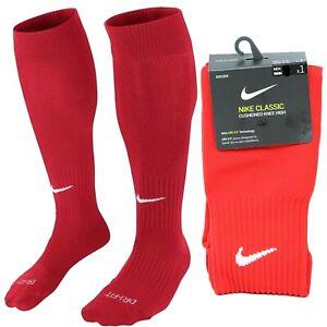 Nike Classic Cushioned Knee High Over The Calf Soccer Socks RED SX5728-648 2 II