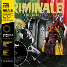 Criminale Vol. 1 - P - Criminale Vol. 1 - Paura [New Vinyl LP] With CD,