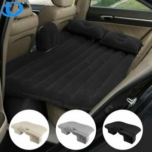 Car Air Bed Mattress Travel Sleeping Camping Cushion Back Seat Pads Inflatable