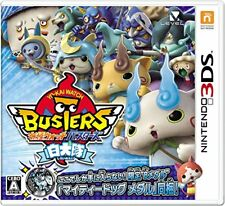 New Nintendo 3DS Yo-Kai Yokai Youkai Watch Busters Shiroinutai from Japan New