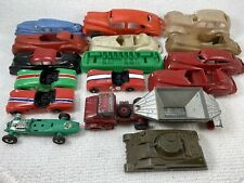 Vintage Plastic Diecast Toy Car Truck Parts Lot! Ideal Pyro Gilmark Dinky Lotus