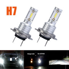 New ListingH7 3030 Led Headlights Kit High Low Beam Bulbs 100W 6000K Super Bright Us 2x (Fits: Subaru)