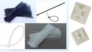 Collier de serrage plastique polyamide incolore ou noir 25-50-100-200-500 pièces