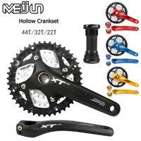 MEIJUN 9/27 Speed MTB Bike Crankset 22/32/44T 104BCD Chainring 170mm Crank BB