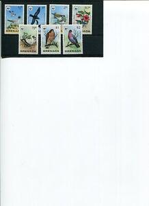 1978 WWF GRENADA Wild Birds 7V complete set MNH POST-FREE.