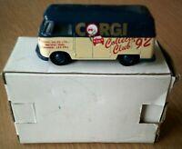 Corgi Collectors Club 92 Model Volkswagen Van NEW IN ORIGINAL PACKING