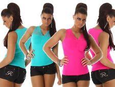Damen-Trägertops L ärmellose Damenblusen, - tops & -shirts