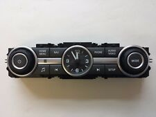 LAND ROVER DISCOVERY 4 2013 RADIO SAT NAV SWITCH PANEL AND CLOCK CH22-18C858-BB