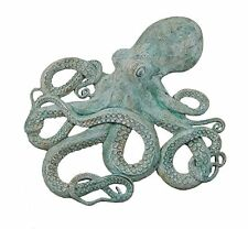 """32""""h Awesome Octopus Wall Decor Figure Shipwreck Finish Large Mount Sculpture"""