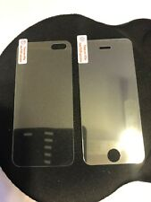 iPHONE 5 FRONT AND BACK TEMPERED GLASS PROTECTION SCREEN