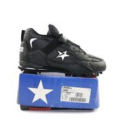 NOS Vintage 90s Converse Cons Longball Baseball Cleats Shoes Black Mens 11.5