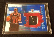 2003-04 Michael Jordan 22/25 UD Triple Dimensions Patch With Partial Auto 1/1