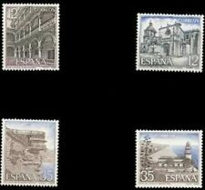 Spain  Edifil # 2835/2838 ** MNH Basica Paisajes y Monumentos
