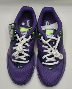Nike Free Hyper TR Woman's Running Training Sneaker Sz 7 Purple Green