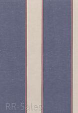 Purple Cream White Pink Striped Cloth Texture Girl Stripe Double Rolls Wallpaper