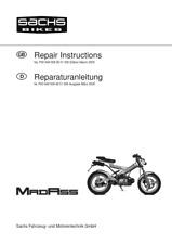 SACHS MADASS REPAIR MANUAL REPRINTED COMB BOUND ENG + GERMAN 03/2005 EDITION