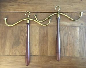 A Pair Of Antique Judges/Barristers Wig Stands