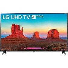 LG 70 Inch LED 4K HDR Smart UHD TV with AI Thinq - 70UK6570PUB
