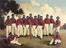 AUSTRALIAN CRICKET, FIRST TOUR OF ENGLAND 1868, SIGNED JOHN HOWARD & STEVE WAUGH