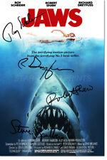 Lo SQUALO CAST pre-signed photo print poster - 12 x 8 in (ca. 20.32 cm) - Steven Spielberg