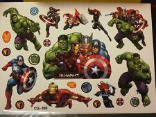 Tatoo Tatuaggi Temporanei Tattoo gioco Bambini the Avengers