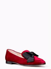 Kate Spade Claudia Flat Loafer Red Velvet Uk 3.5 US 6M rrp £215 EM34 15