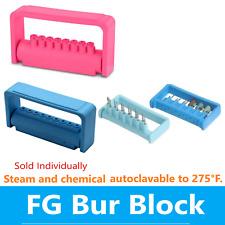 Dental Lab Bur Block Steri Bur Guard Bur Caddy For Fg Burs 25 Hole Or 9 Hole