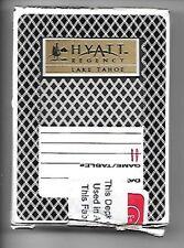 HYATT REGENCY RESORT, LAKE TAHOE   PLAYING CARD DECK