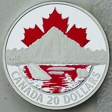 2017 $20 Canada's Coast: Arctic Coast 1 oz Pure Silver Color Proof 3rd in Series