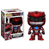 Power Rangers Movie Rojo Ranger Pop! Vinyl Figuras Funko