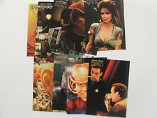 Skybox Star Trek DS9 Deep Space 9 Profiles Insert Set Quarks Bar Set of 9 Cards
