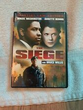 The Siege (DVD, 2007, Martial Law Edition Sensormatic)