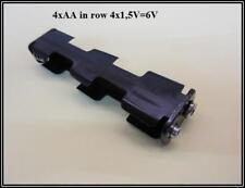 Batterie Accu Halter Adapter Adaptor für 4 x AA Mignon in Reihe 2x