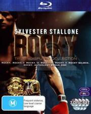 Rocky The Undisputed Collection (DVD Blu-Ray, 2009, 7-Disc Set)