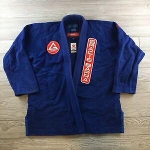 Gracie Barra Kimono Gracie United Brazilian Jiu Jitsu Kimono Robe A3 Custos Blue