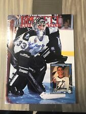 Manon Rheaume Signed Tampa Bay Lighting Beckett Monthly December 1992
