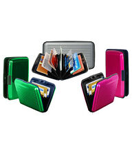 5 Piece Set Aluminium Wallet Cash Credit Card Holder Unisex Wallet Purse