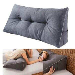 Rückenstützkissen Bettkissen Bett Sitzen Rückenkissen Stütze Beine Keilkissen