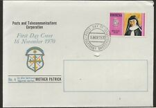 1970 Rhodesia FDC Zimbabwe Mother Patrick Issue