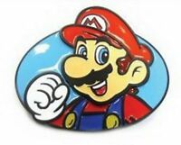 Licensed Nintendo New Super Mario Brothers MARIO Belt Buckle Anime